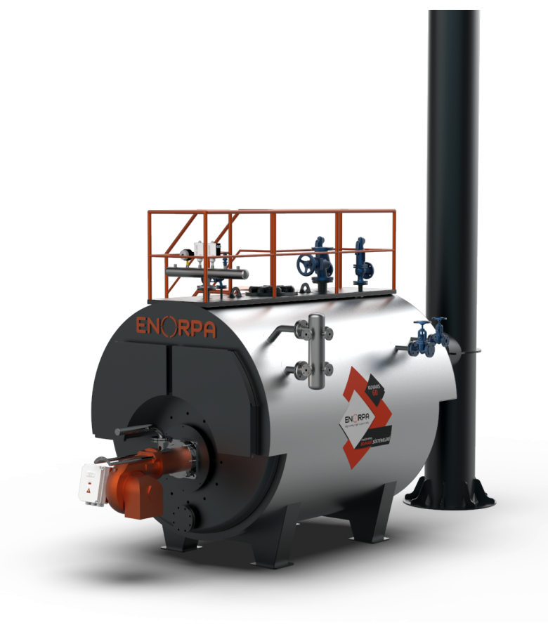 Kuvars Series Liquid - Gas Fired Steam Boilers - Enorpa Isıtma ...